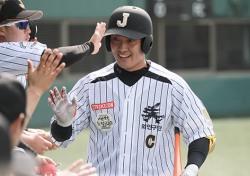 """[KDL] '리그 첫 홈런' 저니맨 이창명, """"홈런 욕심 없었다면 거짓말"""""""