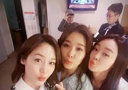 """성유리, 옥주현과 여전한 우정...""""핑클은 영원하다"""""""