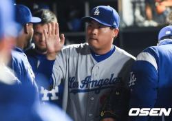 [MLB] '6이닝 1실점' 류현진, 잘 던졌지만 패전...시즌 4패째