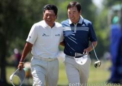 최경주-위창수 PGA 취리히클래식 1R 공동 3위