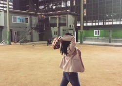나비, 30일 kt 홈경기서 시구…SNS에 연습 사진 공개