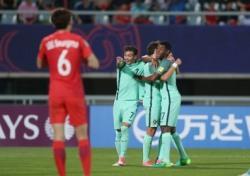 [U-20 월드컵] 한국, 포르투갈에 1-3패…16강서 대회 마무리