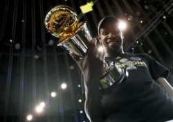 [NBA 파이널] '매 경기 30점 ↑' 케빈 듀란트 파이널 MVP