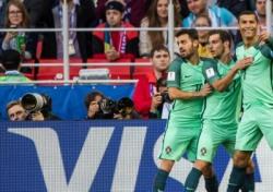[컨페드컵] '호날두 결승골' 포르투갈, 러시아에 1-0 승