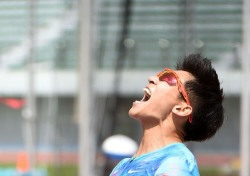 100m '10초07' 김국영, 이틀 만에 갈아치운 한국新