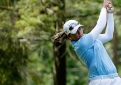 캐서린 커크, 3R 20언더파 LPGA 코스레코드 선두