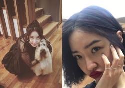 김정민 김새롬, SNS 타고 피어나는 '남다른' 우정