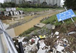 김학철 도의원이 빗댄 '레밍'들, 청주 수해 복구에 손 모아…지역 의원들 해외연수와 상반
