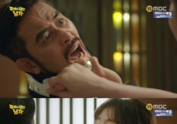 """'죽어야 사는 남자' 최민수 신성록, 강예원 마음 얻으려 고군분투 """"꼴갑을 떤다"""""""