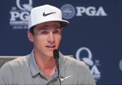 강성훈 PGA챔피언십 첫날 15위, 선두는 올레센