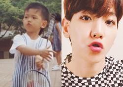 [스낵뉴스] 백현, 어린시절부터 남달랐던 표정?…'몸만 자랐나?'
