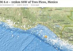 멕시코 지진 쓰나미, 놀란 일본의 발 빠른 분석 보니…