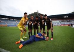 지구방위대FC, 경기 지역 참가팀들과 치열한 승부
