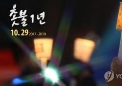 여의도 촛불파티, 정치풍자 코스프레 '기대'