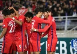 [한국-콜롬비아] '자신감+방향성' 모두 잡은 한국의 '거친 축구'