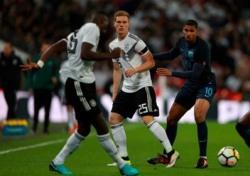 [A매치] 잉글랜드-독일, 득점 없이 0-0 무승부