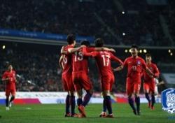 [한국-세르비아] '구자철 PK 골' 한국, 세르비아와 1-1 무승부