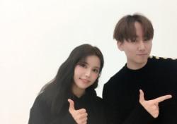 키겐, 새 앨범 '흐림 EP' 15일 발매…마마무 솔라와 다정한 '남매 케미' 사진 눈길