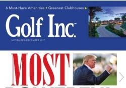 세계 골프계 최고 파워맨은 트럼프 대통령