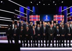 [월드컵 조 추첨식] 한국, 독일-멕시코-스웨덴과 F조