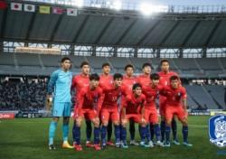 [EAFF E-1 챔피언십] 한국, 주세종 오른발 덕에 중국과 무승부