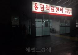 [현장;뷰] 샤이니 종현 이송된 건대 병원, 추위에도 몰린 인파 '조용히 애도'