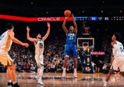 [NBA] '윌리엄스 50득점 폭발!' LA 클리퍼스, 골든스테이트 제압