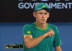 [테니스] ATP에 나타난 신성, '낭랑 18세' 데 미나우르