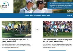 PGA투어의 윈윈 자선 이벤트 '메트라이트 매치업'