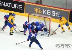 [평창] 女 아이스하키 단일팀 스웨덴에 0-8 패배, 조별리그 탈락