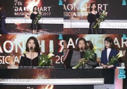 [2018 가온차트 K-POP 어워드] 아름다운 조화 속 빛난 '5관왕' 아이유(종합)