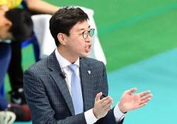 """승리이끈 김세진 OK저축은행 감독 """"초반부터 밀어붙였다"""""""