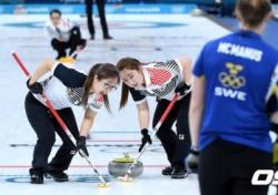 [평창] 파죽지세 여자컬링, 스웨덴도 꺾었다! 공동 1위