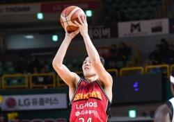 [프로농구] '조성민 날다' LG, 전자랜드 전 시즌 첫 승