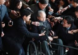 MB 친형 이상득, 휠체어 타고 등장한 속내는 뭘까