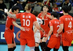 한국전력, 시즌 최종전에서 셧아웃 승리 거두며 4위 도약
