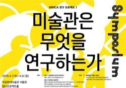 국립현대미술관, MMCA 국제 심포지엄 개최
