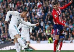 [라리가 31R] '승자 없는 더비' 레알, ATM과 1-1 무승부
