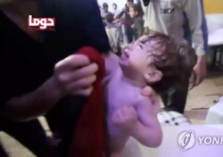 시리아 독가스, 수백명 집단사 '패닉'