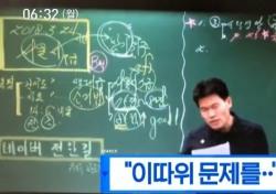 """한국사 전한길 """"XX"""", 문제없다?"""