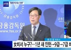 김기식 여비서 논란, 민주당선 초고속 승진 당연시? 해명 보니…