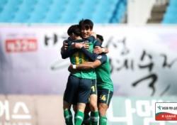 [K리그2] '프로 4년차 데뷔골' 안산 돌풍의 중심 최호주