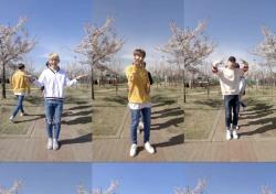 원포유(14U), '뚜루뚜루' 벚꽃 릴레이 댄스 화제…'쇼 챔피언' 출연으로 주목