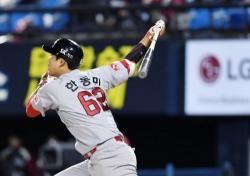 [프로야구] '한동민 연타석 홈런'  SK, 넥센 8-3 대파
