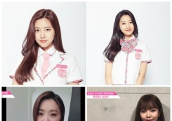 '프로듀스48' 최소은·윤해솔, '뮤직웍스'선배 공민지·김소희 응원에 열정 출사표 'PICK ME'