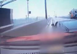 인천 고의 교통사고 당시 상황 봤더니…