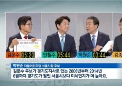 박원순, 서울시장 후보자 토론회 공격 대상 1순위?