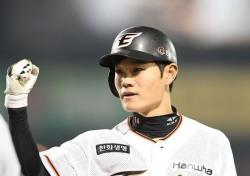 [프로야구] '경기를 지배한 강경학' 한화, LG 꺾고 2위 탈환