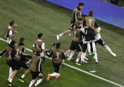 아르헨티나 나이지리아, 숨막히던 후반 42분...승리의 여신은 어디로?