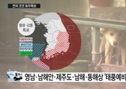 태풍진로예상, 야구팬들 애태우는 물폭탄 소식 '경기 또 취소되나?'